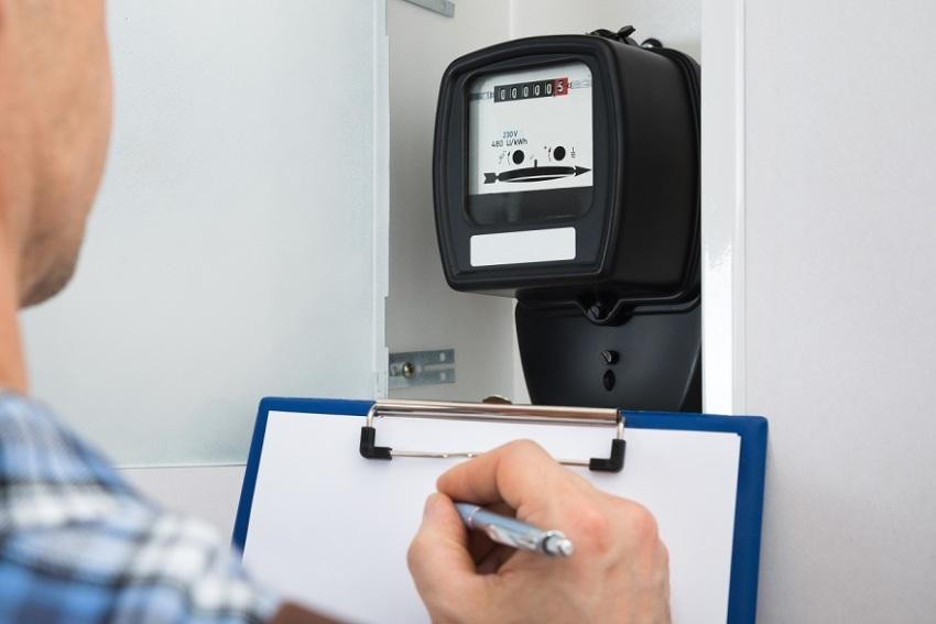Передать показания счетчика за электроэнергию и свет